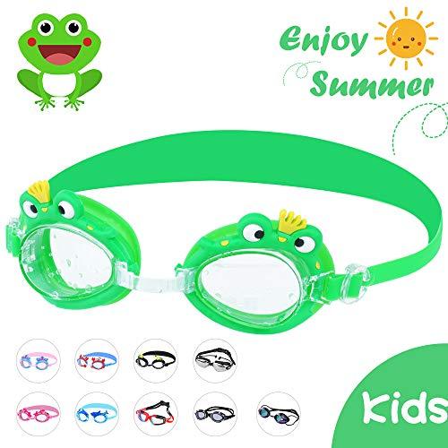 HENGBIRD Schwimmbrille Antibeschlag und UV-Schutz für Kinder Tauchbrille