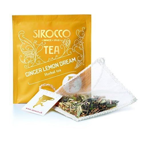 SIROCCO TEA - Organic Ginger Lemon Dream - 20 bustina di tè