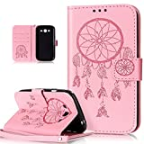 ikasus Coque Galaxy Grand Plus/Grand Neo/Grand Lite Etui Gaufrée Dreamcatcher Etui...