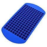 SODIAL(R) 1PCS Eco-friendly Food Grade 160 Cavity Silicone Ice Cube Tray Mini Ice Cubes Small Square Mold Ice...