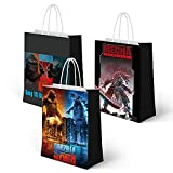 18 Packs Paper Bag Theme Party Gift Bag...