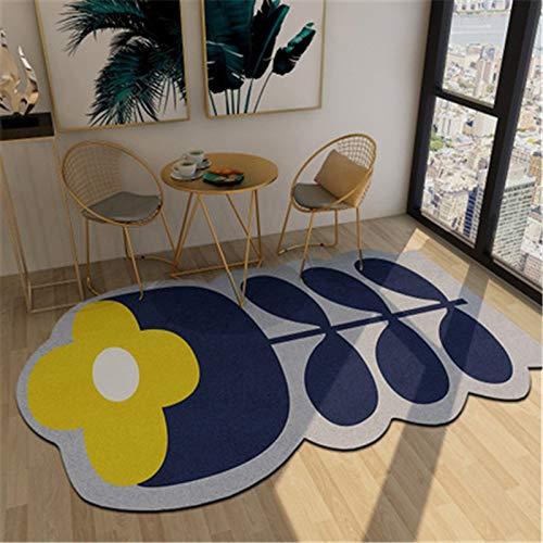 Europäische Abstrakte Unregelmäßig Geformte Einfache Fußmatten Wohnzimmer Schlafzimmer rutschfeste Dicke Fußmatten Couchtisch Sofa Hotel Bed & Breakfast Party Teppich