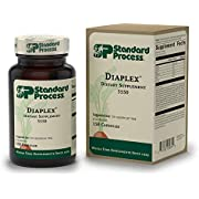 Standard Process - Diaplex - Supports Healthy Sugar Handling, Bowel, Gallbladder, and Pancreas Function, Provides Vitamin A, Vitamin C, Niacin, Vitamin B6, Iodine, Chromium - 150 Capsules