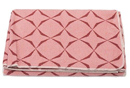 David Fussenegger SILVRETTA Flanell- und Allzweckdecke cotton rouge 140 x 200 cm