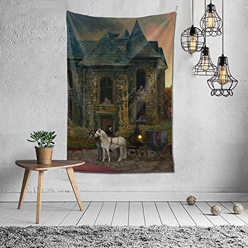 Hdadwy Opeth in Cauda Venenum Tapisserie Wohnkultur Wandkunst Schlafsaal Wohnzimmer Schlafzimmer Strand 60x40 Zoll