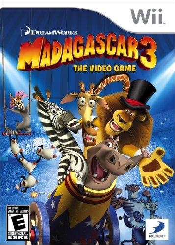 Madagascar 3: The Video Game - Nintendo Wii