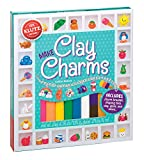 Parents' Choice Award Winner FamilyFunToy of the Year Award Make more than 35 different charms to wear Comes with 9 colors of clay, charm bracelet, clay shaping tool, glaze with brush applicator, jump rings, charm loops, drying and display stand Incl...