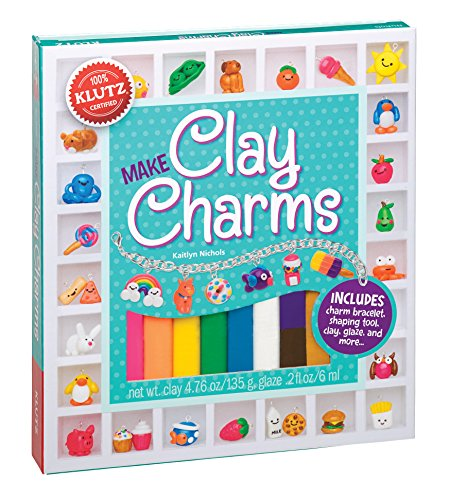 Product Image of the Klutz Make Clay Charms Craft Kit