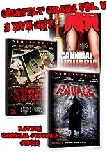 Ghastly Grabs Vol. 5 Movies Cannibal Suburbia, Spree, Ravage
