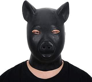 rubber pig hood