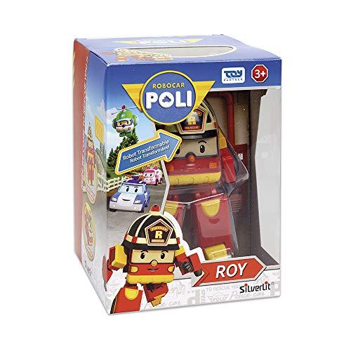 Robocar Poli - Robocar Transformable Roy - Robot ou voiture - 10 cm - Jouet Maternelle