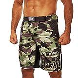 Leone 1947 AB792 Pantalones Cortos de MMA, Unisex – Adulto, Verde, XXXL