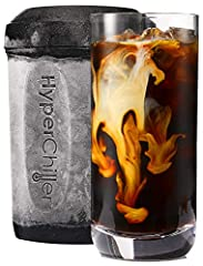 Improved V2 product - the easiest, most cost effective way to chill your favorite beverages! Our Patented design uses regular water to chill and because there are no chemicals or Gels, all parts of the HyperChiller are dishwasher safe! Having to hit ...
