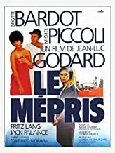 Pop Culture Graphics Contempt Poster Movie French 27 x 40 Inches - 69cm x 102cm Brigitte Bardot Jack Palance Fritz Lang Ge...