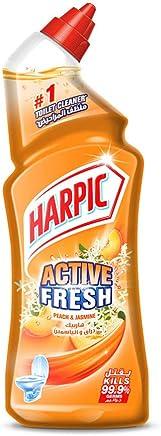 Harpic Fresh Liquid Toilet Cleaner - Peach & Jasmine, 750ml