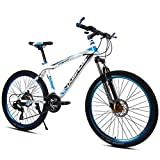 WGYDREAM Mountainbike Mountain Bike MTB Mountainbike/Fahrräder, Kohlenstoffstahlrahmen Hardtail Bike, Vorderradaufhängung und Dual Disc Brake, 26inch Mag Wheels Mountainbike Mountain Bike MTB