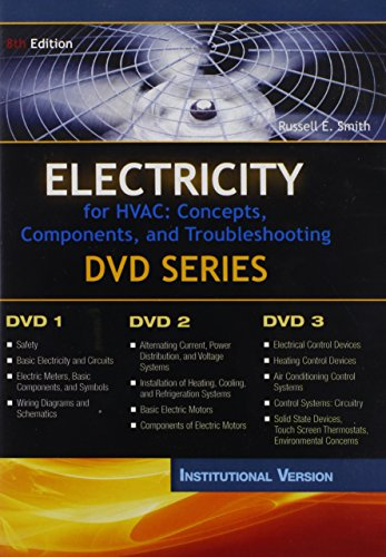 Electricity for HVAC: Concepts Components, And Troubleshooting: DVD Series / Institutional Version