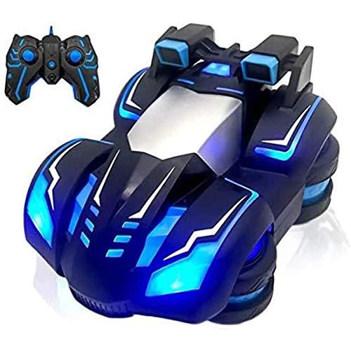KELEQI Ferngesteuertes Auto, Stunt Drift Stunt RC Fahrzeug USB Wiederaufladbares Rennspielzeug, 2,4 GHz...