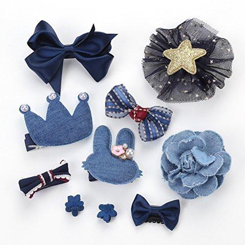 Lurrose 10 paires d 'arcs, de broches, de poitrines, de poitrines, de poitrines, de bijoux, de bijoux, d' enfants, d 'enfants, de filles, d' anniversa