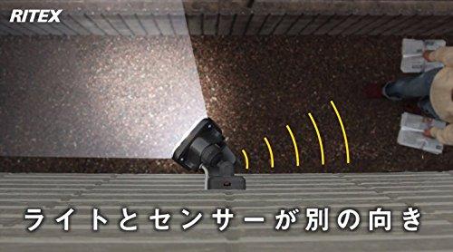 『ムサシ RITEX フリーアーム式LEDセンサーライト(8W×2灯) 「コンセント式」 防雨型 LED-AC2016』の12枚目の画像