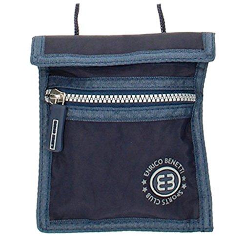 Necklace / wallet 'enrico benetti' navy - 16x14 cm (6.30''x5.51'').
