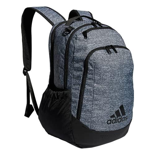 adidas - Zaino sportivo unisex Defender Team, Unisex - Adulto, 979425, Jersey Onix Grey/Black, Taglia unica