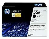 HP 55A CE255A, Negro, Cartucho Tóner Original, de 6.000 páginas, para impresoras HP LaserJet Enterprise serie P3010, P3015, 500 MFP 525 y LaserJet Pro 500 MFP M251