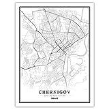 Lonfenner Leinwand Bild,Tschernigow Ukraine Abstrakte Farbe