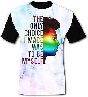 Sisters James Charles Short Sleeve Crewneck T Shirt Casual T-Shirt for Men