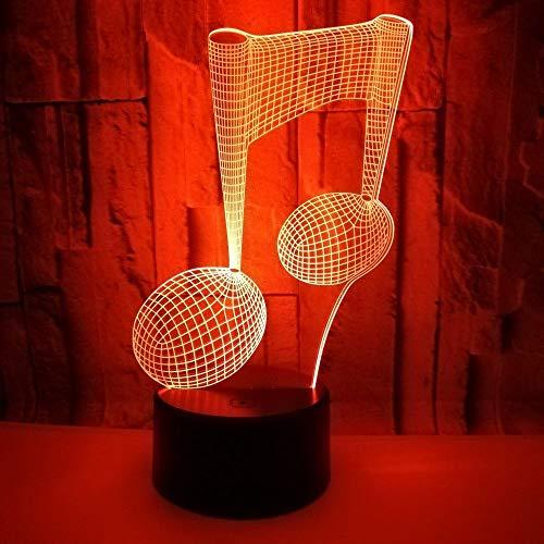 LG Snow Tischlampe, 3D-Nachtlicht, bunt, visuelles Licht, Touch-Fernbedienung, Schlafzimmer, kleine Tischlampe