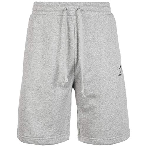 Converse Star Chevron EMB Short Shorts Herren Grau - L - Shorts/Bermudas