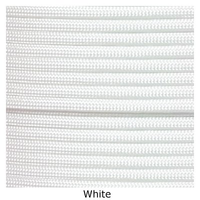 Tactical 550 Paracord - White, 1000 FT