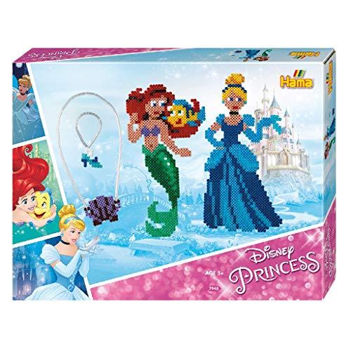 Hama Princess - Kits de Mosaico (5 año(s), Colores Surtidos, CE, 4000 Pieza(s), Caja)
