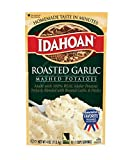 Idahoan Roasted Garlic Mashed Potatoes, Made with Gluten-Free 100% Real Idaho Potatoes, 12 (4 Servings) Pouches