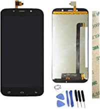 Dr.Chans LCD Display Screen Touch Digitizer Assembly Replacement with Free Tools for UMI Rome X Black