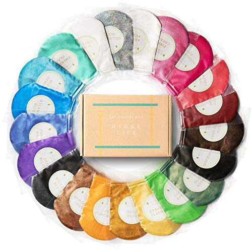 21 Premium Mica Powder Packs [210g/7.4oz] Natural Color Pigment Set for Epoxy Resin, Acrylic Paint, Slime, Soap, Jewelry | Non Toxic Cosmetic Grade Pearl Colorant for Bath Bomb, Eyeshadow, Lipgloss
