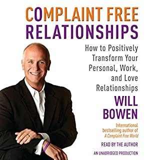Complaint Free Relationships audiobook cover art