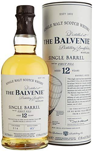 The Balvenie Single Barrel 12 Jahre Single Malt Scotch Whisky mit Geschenkverpackung (1 x 0,7 l)