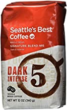 Seattle's Best Level 5, Whole Bean, 12-Ounce Bags (Pack of 3)