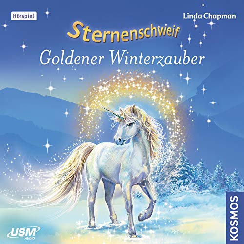 Goldener Winterzauber audiobook cover art