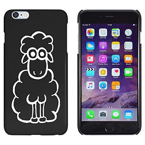 Azeeda Schwarz 'Schaf' Hülle für iPhone 6 Plus und 6s Plus (MC00105471)