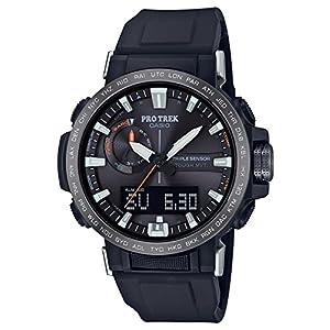[カシオ] 腕時計 プロトレック クライマーライン 電波ソーラー PRW-60Y-1AJF メンズ ブラック