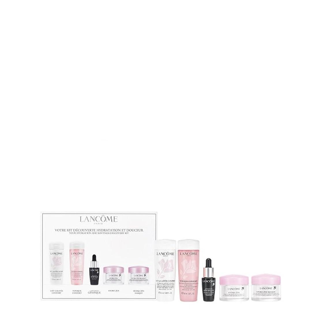 露第九外観ランコム Your Hydration & Softness Discovery Kit: Confort Galatee+Confort Tonique+Genifique Concentrate+Hydra Zen Cream+Hydra Zen Mask 5pcs並行輸入品