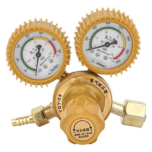 2-Gauge-Messingregler-Sauerstoff-Druckminderer 0-25MPa für Schweißen, Schneiden, Chemische Industrie, Medizin und Gesundheit, Elektronikindustrie