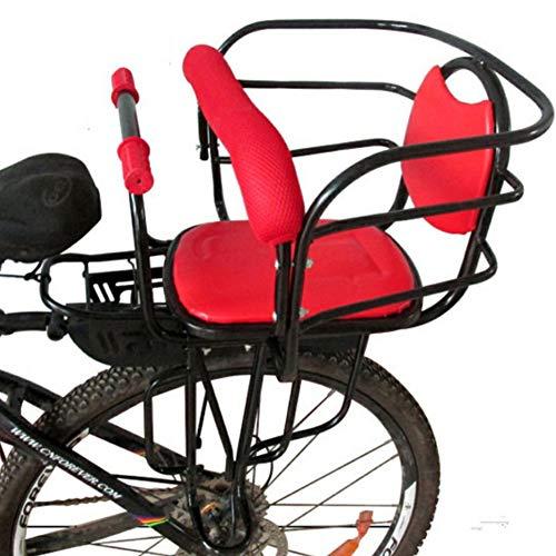 AIBAB Asiento De Seguridad para Bebé En Bicicleta Asiento Trasero para Niños Almohadilla De Silla Infantil Accesorios De Bicicleta para Niños