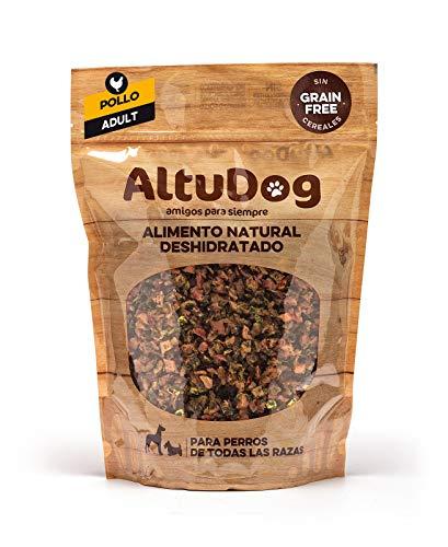 ALTUDOG Alimento Natural deshidratado para Perros Adultos Pollo SIN Cereales Adult 1Kg - Comida Natural para Perros (10x1Kg)