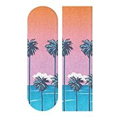 【Material】HANZHY skateboard grip tape made of EMERY (surface) and PVC (back). 【Size】33.1inch x 9.1inch ( 84cm x 23cm). 【Anti-slip】Made of high-density sand, special sandpaper for skateboard, non-slip, wear-resistant. 【Very sticky】The sticky side of t...