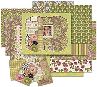 Amy Butler Lotus Petal Boxed Scrapbook Kit By The Each