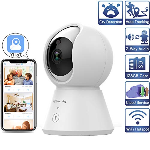 1080p IP Camera Auto Tracking Wireless Home Security WiFi Baby Monitor Cloud Video Surveillance CCTV Security Camera PTZ Yi iot 1080P