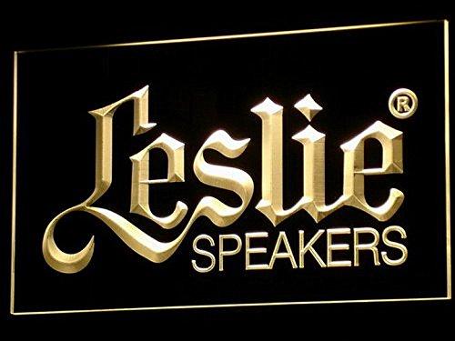 Leslie Speakers Audio LED Neon Light Sign Man Cave K044-Y